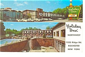 Rochester NY Holiday Inn Northwest Postcard p6628 (Image1)