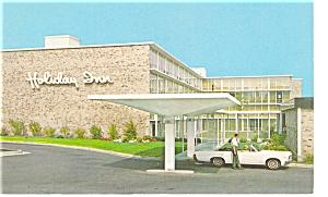 Schenectady NY Holiday Inn Postcard p6629 (Image1)