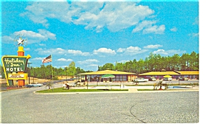 Charlotte NC Holiday Inn Postcard p6633 (Image1)