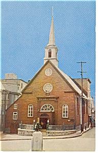 Notre dame des Victoires Quebec Canada Postcard p6647 (Image1)