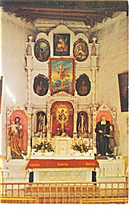 Santa Fe, NM,San Miguel Church Postcard (Image1)