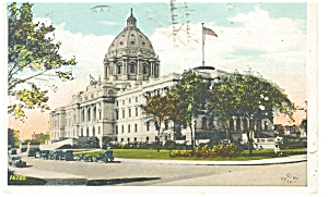St Paul MN State Capitol Postcard p6658 (Image1)