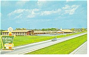 Perrysburg OH Holiday Inn Postcard p6679 (Image1)