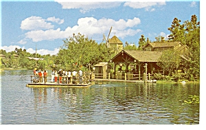 Tom Sawyer Island Disney World Postcard p6682 (Image1)