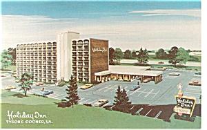 Tyson s Corner VA  Holiday Inn Postcard p6690 (Image1)