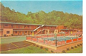 Parkersburg WV  Green Acres Motel Postcard p6716 (Image1)