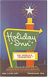Petersburg VA Holiday Inn Sign Postcard p6726 (Image1)