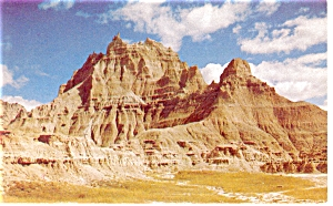 Vampire Peak at Cedar Pass South Dakota Postcard p6733 (Image1)