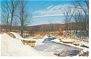 Winter S First Snow Scenic Postcard P6737