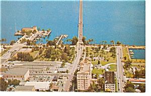 Bradenton FL Bridge to Palmetto Postcard p6785 (Image1)