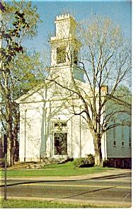 Tolland  CT Congregational Church  Postcard p6789 (Image1)