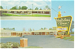 Allendale SC Holiday Inn Postcard p6809 (Image1)