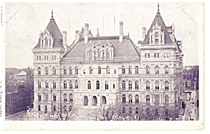 Albany NY State Capitol  Postcard p6815 (Image1)