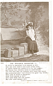 The Miller's Daughter Postcard