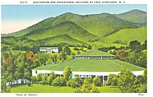 Lake Junaluska NC Auditorium Postcard p6917 (Image1)