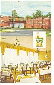 Saratoga Springs NY The Holiday Inn Postcard p6939 (Image1)