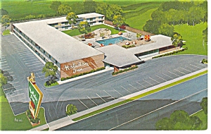 Appleton Wi The Holiday Inn Postcard P6942