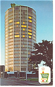 Syracuse Ny The Holiday Inn Downtown Postcard P6944