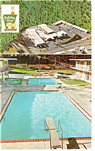 Asheville, NC, The Holiday Inn East Postcard (Image1)