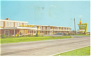 Rocky Mount NC Holiday Inn No 2 Postcard p6949 (Image1)
