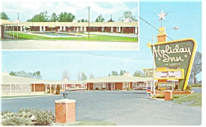 Allendale SC  Holiday Inn  Postcard p6950 (Image1)