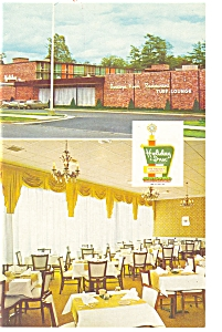 Saratoga Springs Ny Holiday Inn Postcard P6955