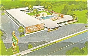 Richmond Va Holiday Inn No 2 Postcard P6959