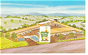 Roanoke, VA, Holiday Inn North Postcard (Image1)