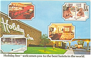 South Hill, VA, Holiday Inn  Postcard (Image1)