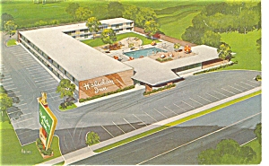 Zanesville OH Holiday Inn Postcard p6975 (Image1)