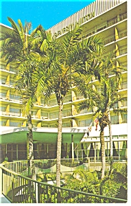 Beverly Hills CA Beverly Hills Hilton Postcard p7125 (Image1)