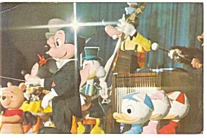 Disney World Mickey Mouse Revue Postcard p7163 (Image1)