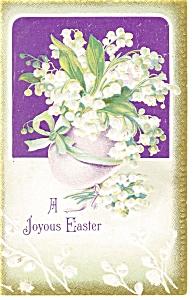 A Joyous Easter Postcard p7187 1911 (Image1)