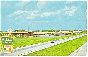 Perrysburg Ohio Holiday Inn  Postcard p7205 Vintage Plymouth (Image1)