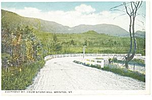 Bristol, VT, Elephant Mountain Postcard (Image1)