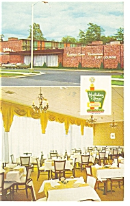 Saratoga Springs Ny The Holiday Inn Postcard P7247