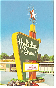 Elizabeth City, NC, The Holiday Inn Postcard (Image1)