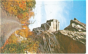 Battlement Terr Lake Minnewaska NY Postcard p7253 (Image1)