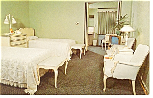 Richmond, VA, Princess Lee Motel Room Postcard (Image1)