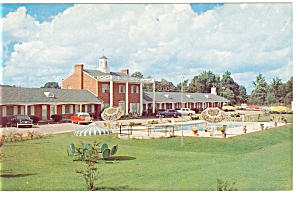 Richmond, VA, Princess Lee Motel Postcard Old Cars (Image1)