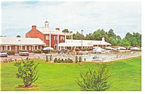 Richmond, VA, ThePrincess Lee Motel Postcard Old Cars (Image1)