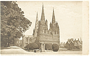 Old Church Building in England Postcard p7335 (Image1)
