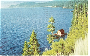 Lake Tahoe, CA Shoreline Postcard (Image1)