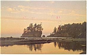 Crescent Rock Salt Creek Recreation Area WA Postcard p7385 (Image1)
