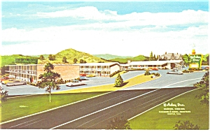 Marion Virginia Holiday Inn Postcard 1972 (Image1)