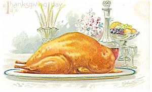 Thanksgiving Day Postcard Raphael Tuck ca 1908 p7469 (Image1)
