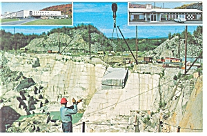 Barre, VT, Rock of Ages Quarry Postcard (Image1)