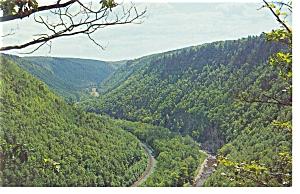 Pennsylvania Grand Canyon Postcard p7525 (Image1)