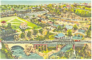 Hamburg PA Roadside America Mini Village Postcard p7572 (Image1)