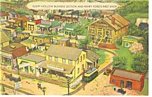 Hamburg PA Roadside America Sleepy Hollow Postcard p7573 (Image1)